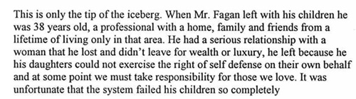 Fact sheet on Stephen Fagan case 1999 Page 4 of 4